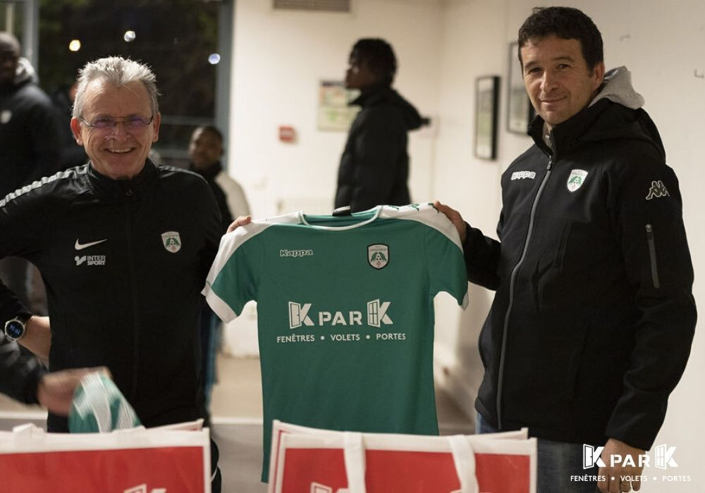 photo remise maillot kpark longjumeau