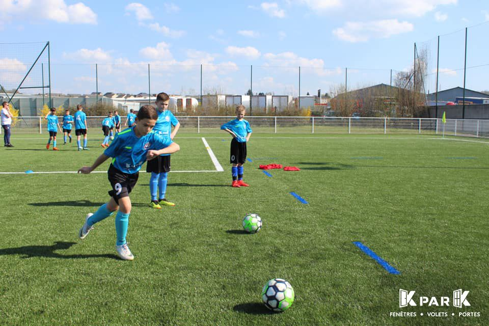 entrainement jeune nord ardennes football club kpark