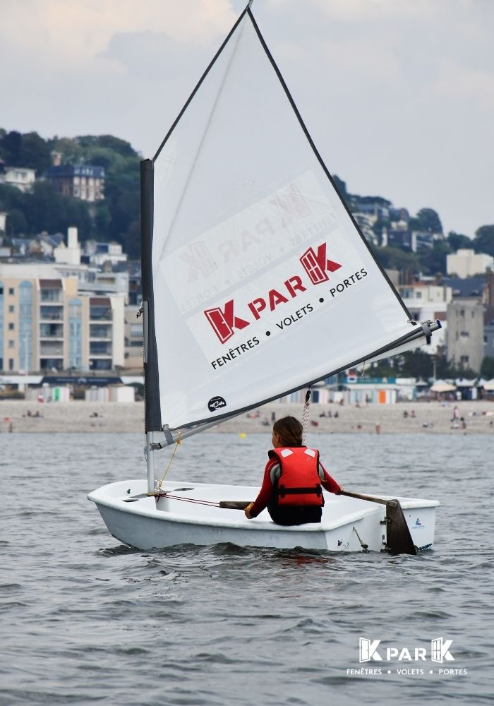 stage de voile kpark le havre optimist