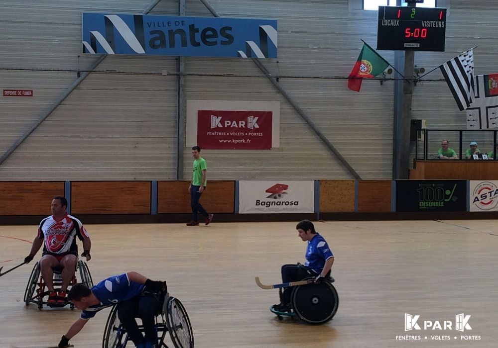 photo action hockey fauteuil