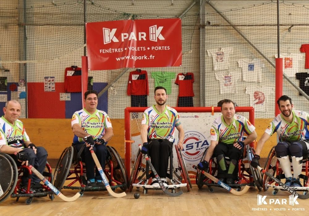 equipe hockey fauteuil kpark