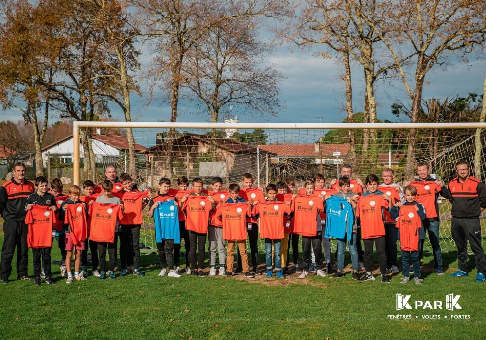 remise maillot u11 fc st geours kpark