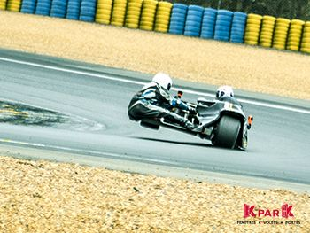 Team FB Superside Mickael et Franck circuit du Mans